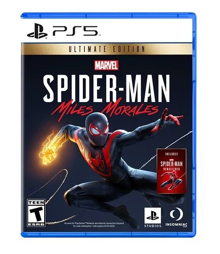 Marvel's Spider-Man Miles Morales Ultimate Edition - box art