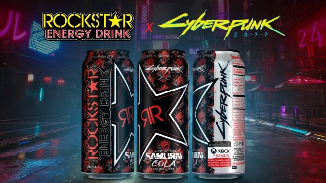 CD Projekt Red and Rockstar Energy Partner