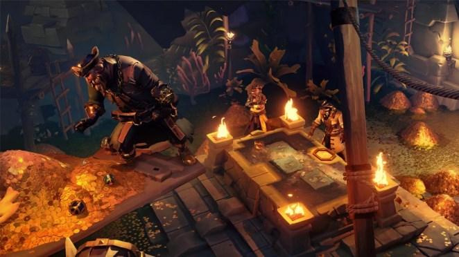 Pirates in vault