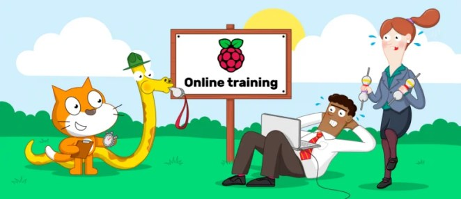 An illustration of a bootcamp for computing teachers