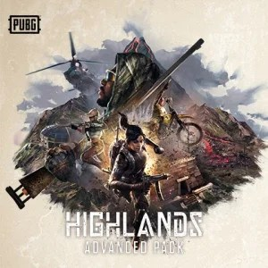 PUBG - Pack avancé Highlands