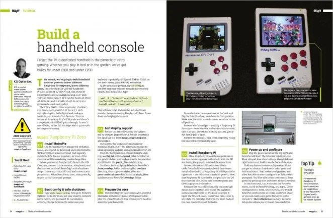 Hand held gaming devices which look like traditional Game Boys