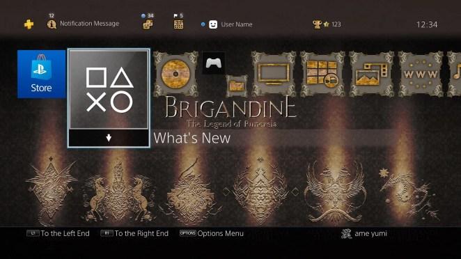 Brigandine: The Legend of Runersia - Theme