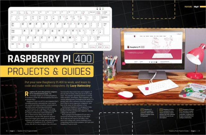 Raspberry Pi 400 Projects & Guides