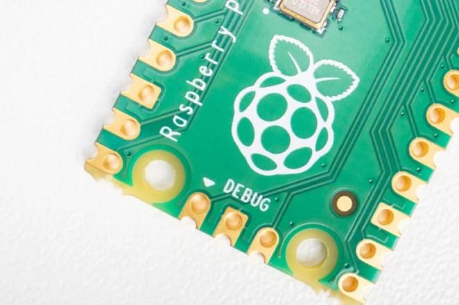 Accessible debugging pins