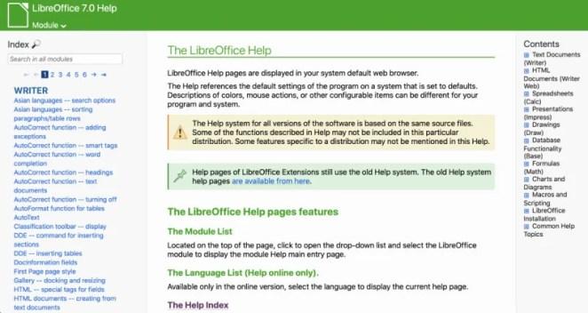 LibreOffice Help