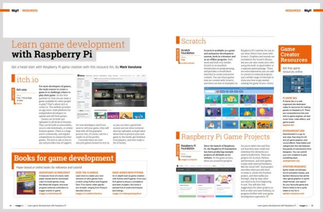 Learn game development with Raspberry Pi