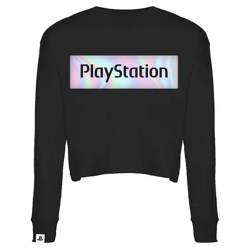 Playstation Gear Store Europe - Women's Iridescent Semi-Crop Shirt