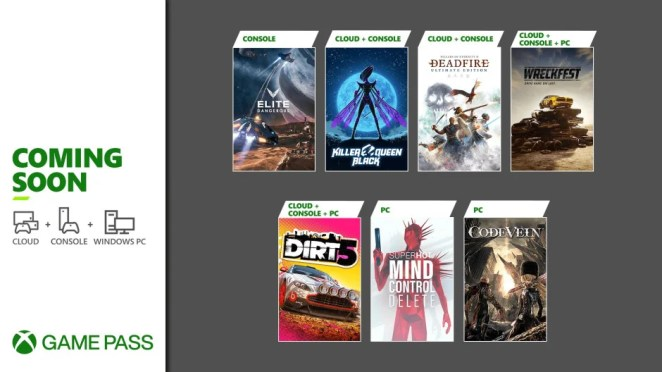 Xbox Game Pass - February - Wave 2