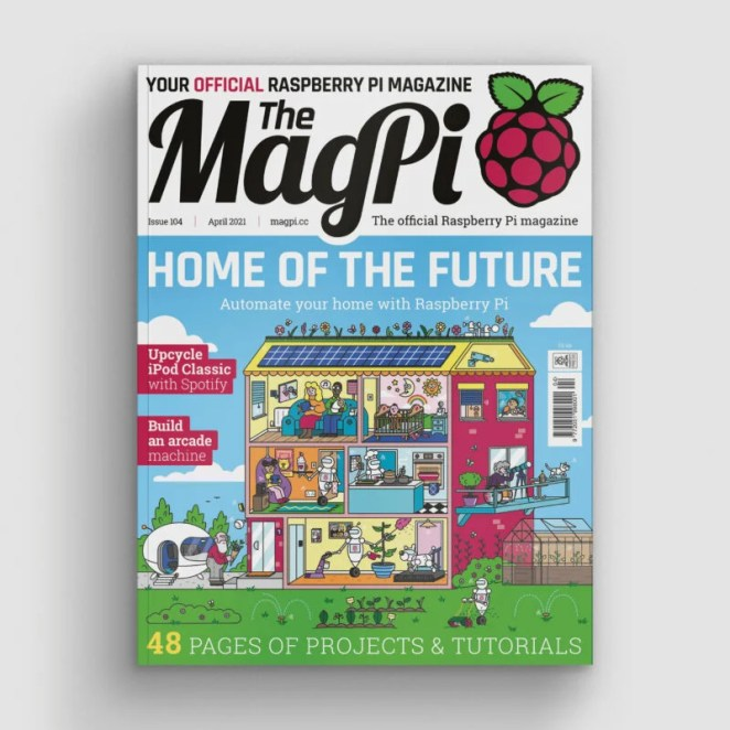 MagPi 104 cover