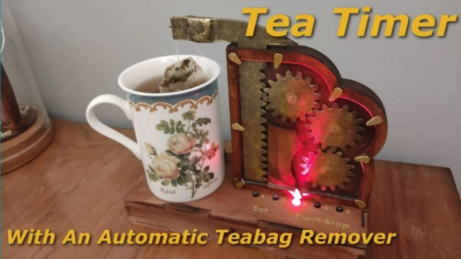 Steampunk Tea Timer Arduino Project