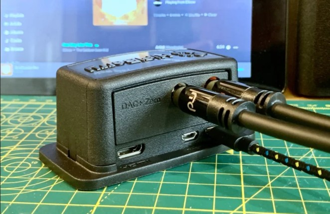 DAC (digital-to-analogue converter) HAT