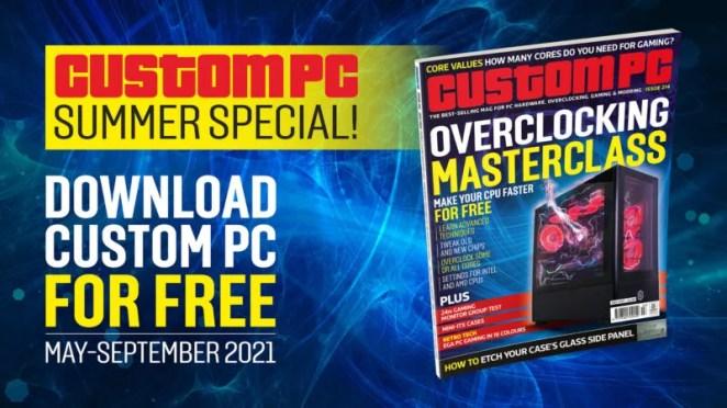 Custom PC Summer special advert
