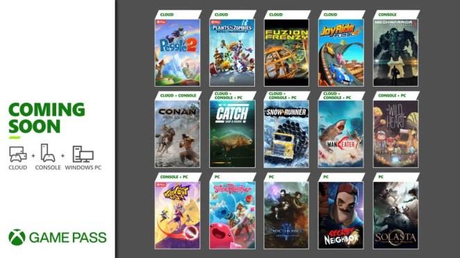 Xbox Game Pass - May Update - Hero Image