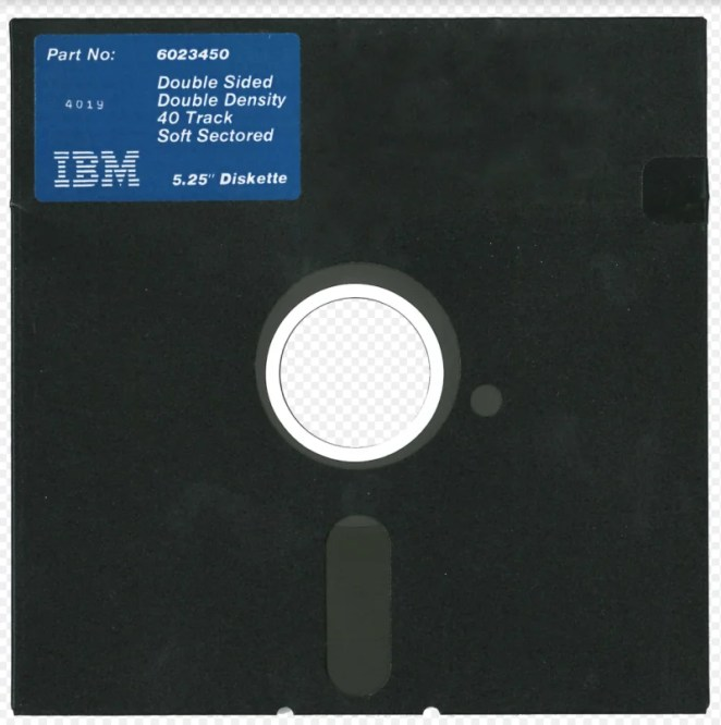 The project allows for the reading and writing of floppy disks such as these once-popular 5.25-inch varieties