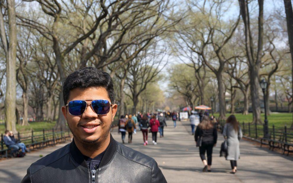 Roteiro cinematográfico pelo Central Park, NY.
