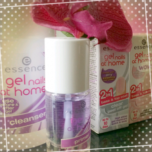 Essence gel nails at home