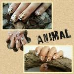 Dag 13 Animal Print Nails