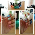 Dag 9 Rainbow Nails