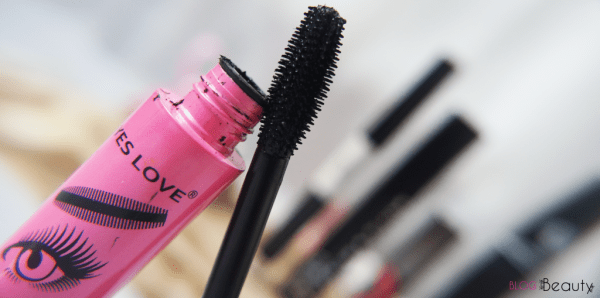 Top 5 mascara Yes Love borstel