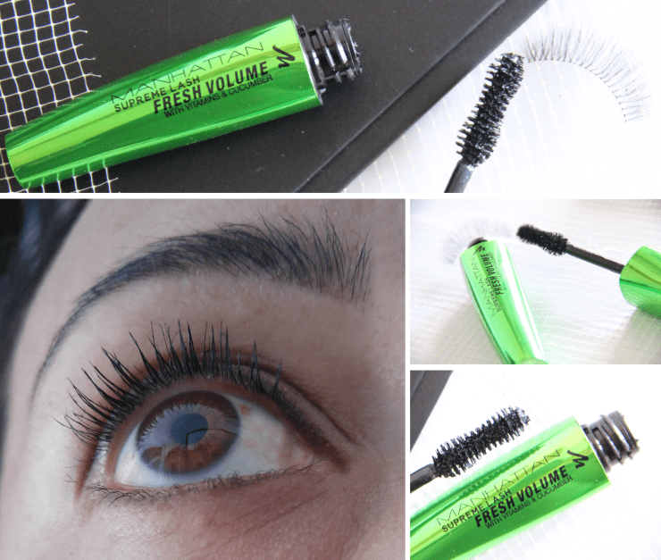 Manhattan Supreme Lash Fresh Volume SWATCH