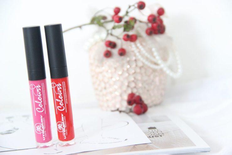 Utsukusy Lipgloss Rood en Roze