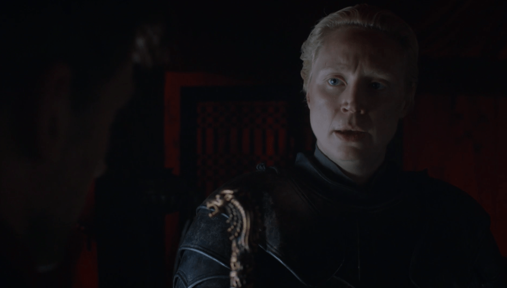Brienne de tarth. Fuente: HBO
