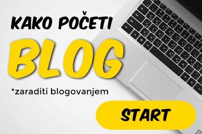 kako poceti blog zaraditi blog