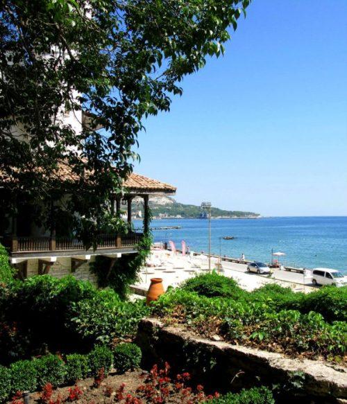 Balchik costa praia