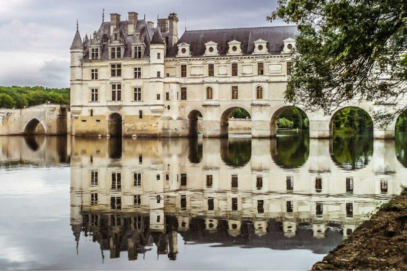 Castelos na França-o-chenonceau