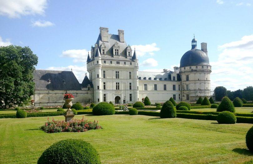Castelos na França-valencay