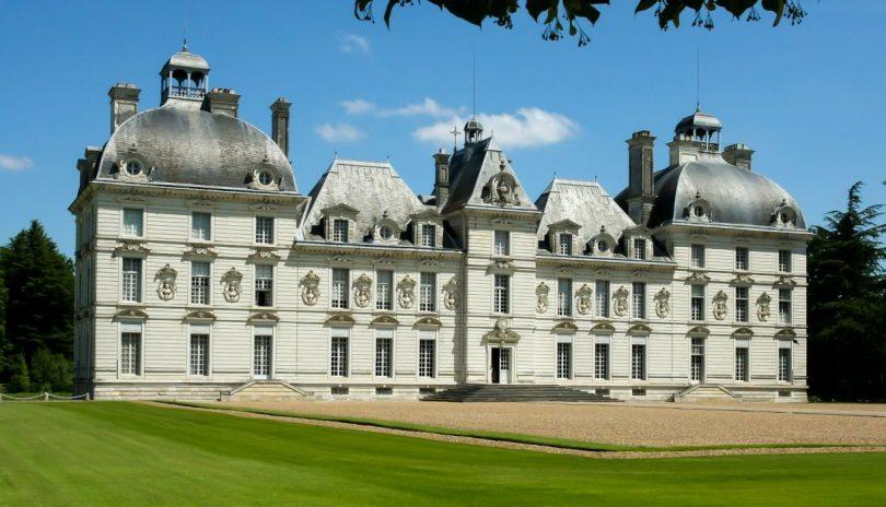 Castelos na França-o-cheverny