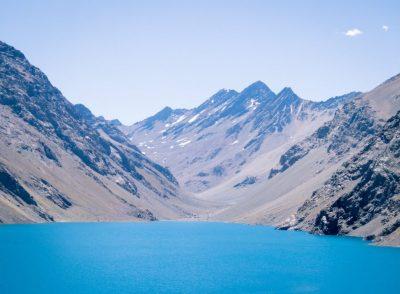 Ski Portillo no verão_cordilheira dos andes