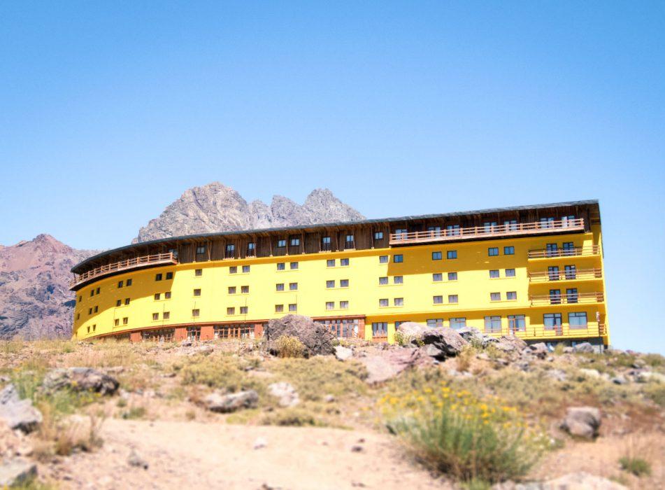 Ski Portillo no verão_hotel