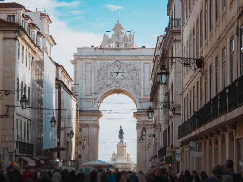 o que fazer em Lisboa-rua augusta