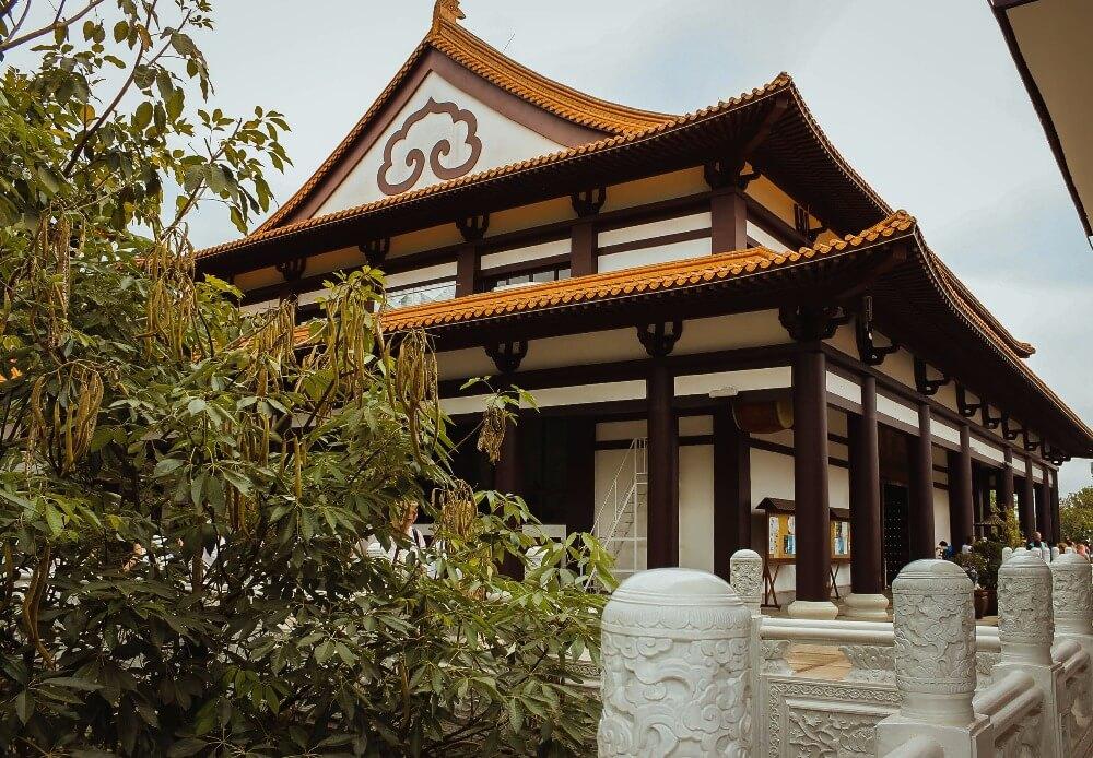 Templo Zu Lai-fachada