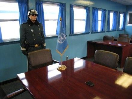 fronteira entre a Coréia da Norte e a Coréia do Sul_guarda