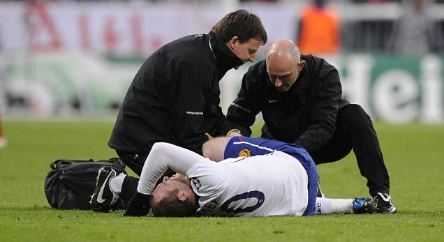 rooney ankle