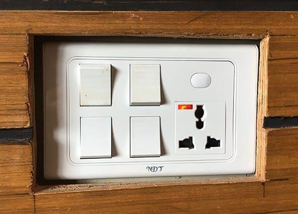 Nepal power socket