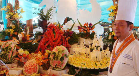Holland America flower food