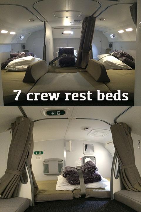 Crew rest Dreamliner 787-9