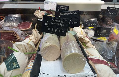 Foie gras New Caledonia