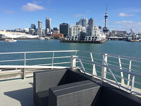 Hauraki blue cruise