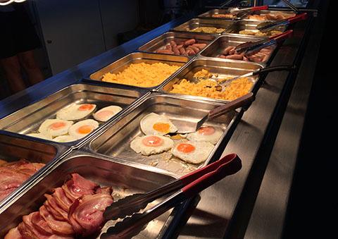 Hauraki Blue breakfast