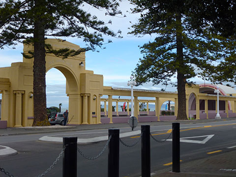 Marine parade sound shell napier