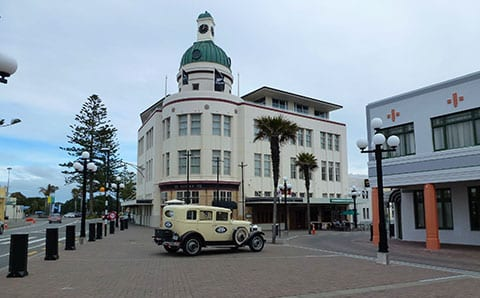 Art deco walk Napier