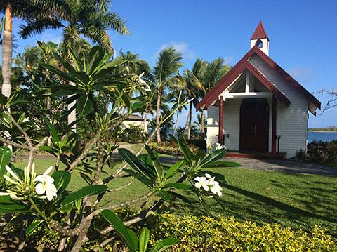 Sofitel Fiji chapel
