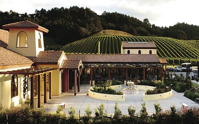 Ascension Vineyard courtyard