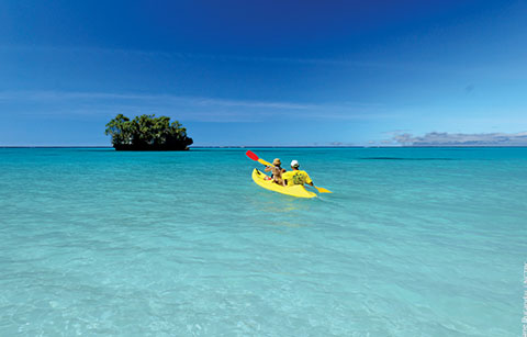 New Caledonia kayaks