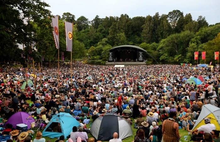 Womad stage NZ